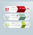 infographic template Modern box Design Minimal sty vector image vector image