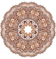 Ornamental round Paisley vector image