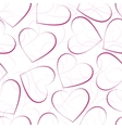 seamless valentine-s day background vector image