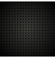 Textured perforated leather background vector image