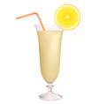 cocktai milk vector image