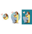 girl love reading vector image