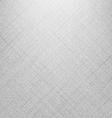 White denim linen texture vector image
