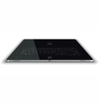 Tablet Frontal View Horizontal Surface vector image vector image