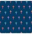 Cross pattern vector image