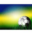 Brazilian Football Background Design vector image