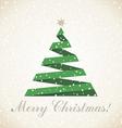 Christmas tree7 vector image