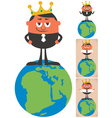King of the World 2 vector image vector image