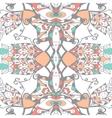 Traditional ornamental paisley bandanna Hand vector image