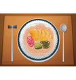 Asian Meal vector image