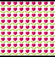 creative love plant pattern background vector image