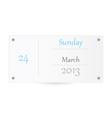 Small Calendar vector image