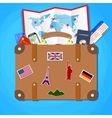 Travel and tourism concept vector image