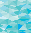 blue low poly abstract background vector image