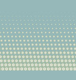seamless green background with halftone polka dots vector image