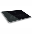 Tablet Left Side View Horizontal Surface vector image