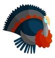 Turkey icon cartoon style vector image
