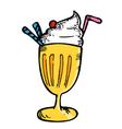 juice float vector image