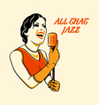 all that jazz vector image