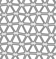 Seamless mesh pattern vector image