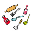 kitchen ware vector image