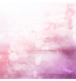 Pink watercolour texture background vector image