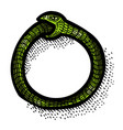 cartoon image of cycle icon process symbol vector image