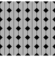 Tile pattern with grey and black background vector image
