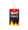 hot price vector image vector image