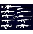 Gun set vector image