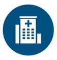hospital medical icon vector image