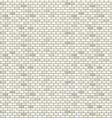 White brick wall seamless pattern vector