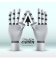 Cyber Monday online shopping and marketing concept vector image vector image