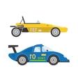 Retro sport car vector image vector image