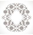 arabesque vintage outline decor ornate pattern vector image