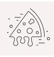 Line Logo Food or Drink vector image