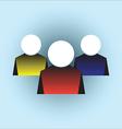 170715 business logo man icon vector image