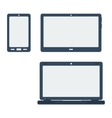 icon set gadgets vector image