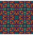 Damask festive abstract seamless pattern vector image