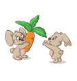 gift for Bunny vector image