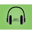 dont disturb symbol poster with vector image