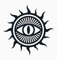 Occult symbol vector image