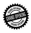 Grand opening stamp vector image