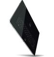 Tablet Standing on One Corner vector image