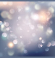christmas background with blurred light eps 10 vector image
