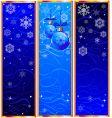 Christmas banners vector image