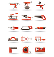 Construction and building manual tools vector image