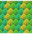 abstract background with green leaf vector image