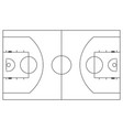 abstract basketball label vector image