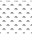 Carp fish pattern simple style vector image